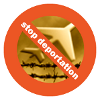 Stop Deportation logo