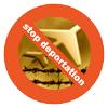 Stop Deportation logo